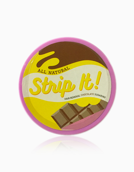 Hair Removal Chocolate Sugaring Kit (80g) by Strip It