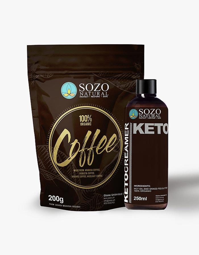 Bulletproof Coffee Set (250ml) by SOZO Natural