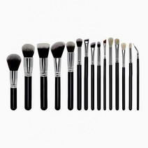 15-Piece Premium Brush Set by Brush Works