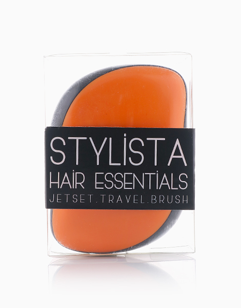 Jetset Travel Brush  by Stylista Hair Essentials | Orange Pop
