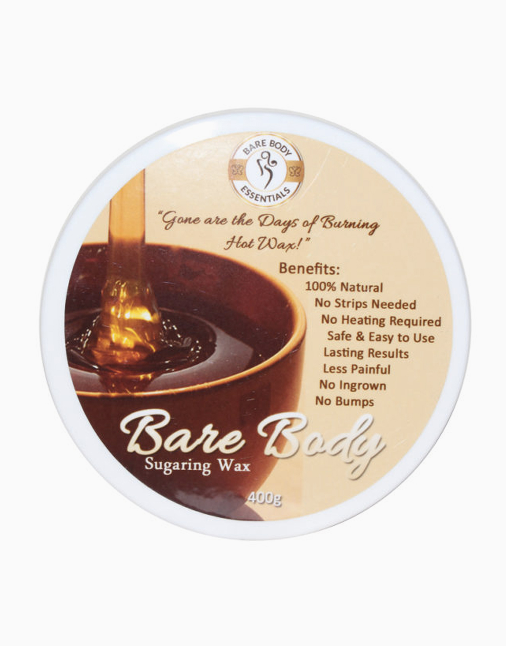 Bare Body Sugaring Wax (400g) by Bare Body Essentials | Regular