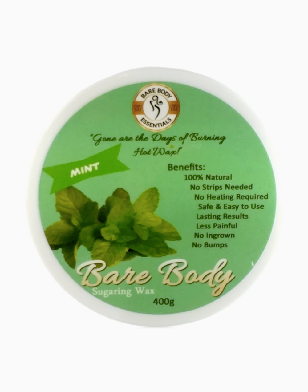 Bare Body Sugaring Wax (400g) by Bare Body Essentials | Mint