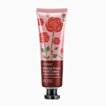 Rorec rose natural green hand cream