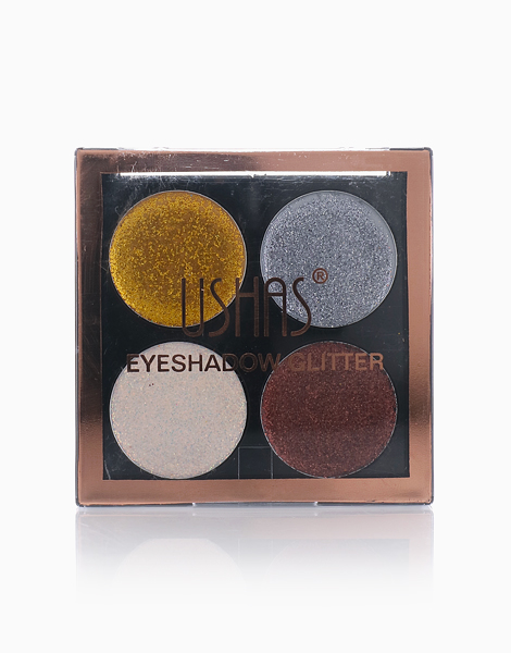 Glitter Eyeshadow Quad by Ushas Cosmetics | #3