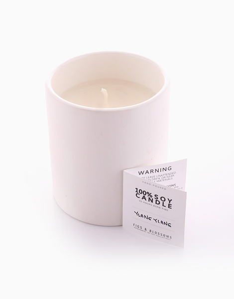 Soy Candle (220g) by Figs & Blossoms | Ylang Ylang