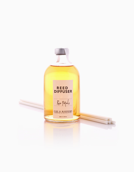 Reed Diffuser (100ml) by Figs & Blossoms | Rose Petals