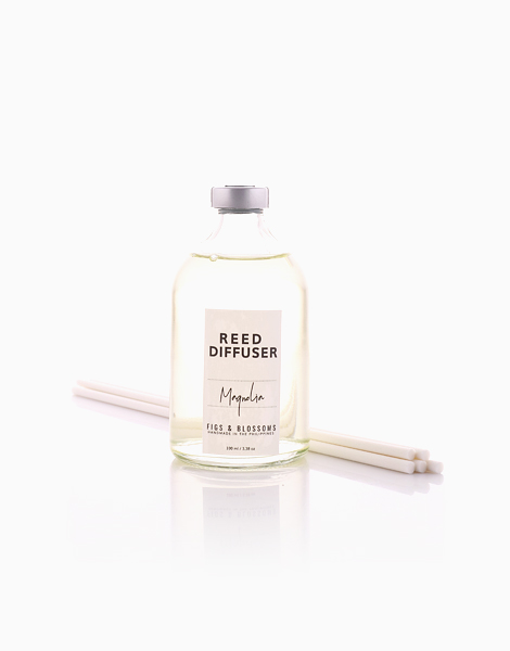 Reed Diffuser (100ml) by Figs & Blossoms | Magnolia