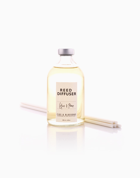 Reed Diffuser (100ml) by Figs & Blossoms | Lotus & Pear