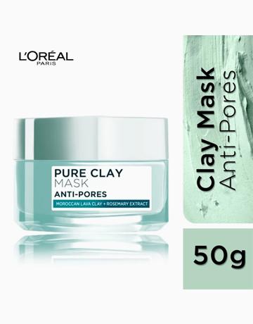 Pure Clay Mask: Anti-Pores (Mint Green) by L'Oréal Paris
