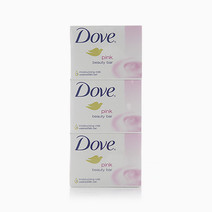 Bar Soap Pink Beauty 100g (Pack of 3) by Dove
