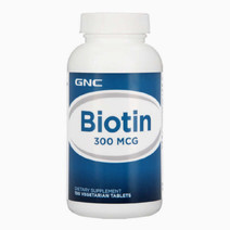 Gnc biotin 300 mcg %28100 tablets%29