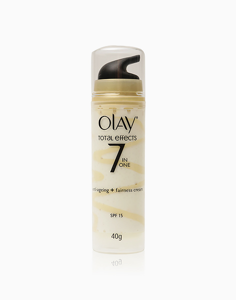 Olay Total Effects 7-In-One Anti-Ageing + Fairness Cream SPF 15 (40g) by Olay