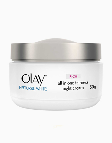 Olay Natural Rich White All In One Fairness Night Cream by Olay