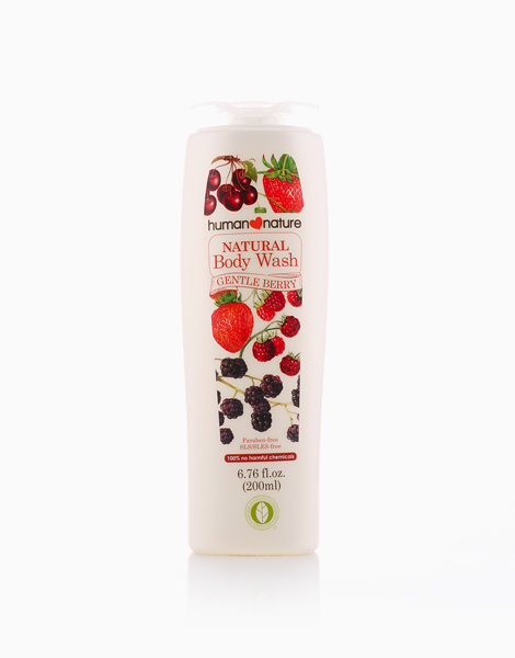Gentle Berry Body Wash (200ml) by Human Nature