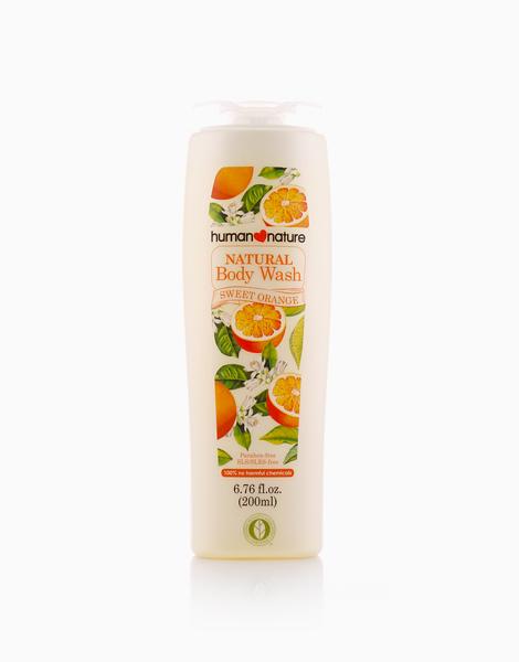 Sweet Orange Body Wash (200ml) by Human Nature