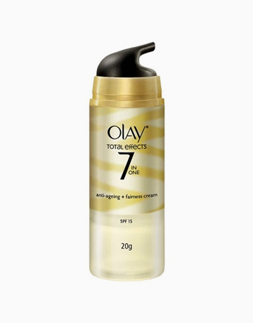 Olay Total Effects 7-In-One Anti-Ageing + Fairness Cream SPF 15 (20g) by Olay