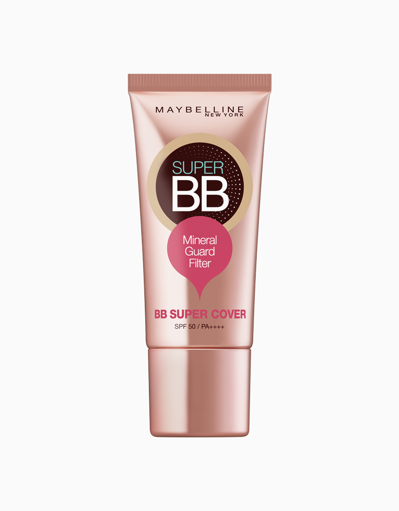 Super BB Cream with Super Cover SPF50 by Maybelline |