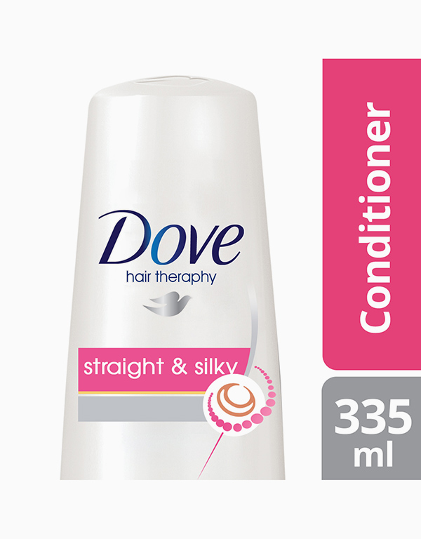 Dove Hair Conditioner Straight & Silky (335ml) by Dove