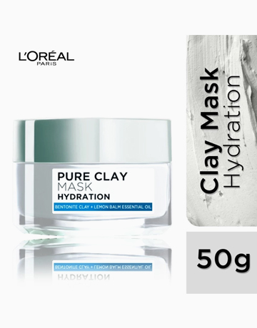 Pure Clay Mask: Hydrating (Blue) by L'Oréal Paris