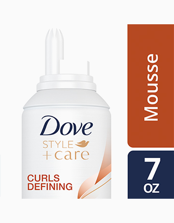 Dove Curls Defining Mousse Style+Care Nourishing 7oz by Dove