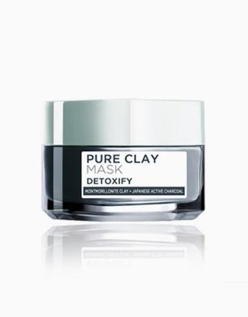 Pure Clay Mask: Detoxify (Black) by L'Oréal Paris