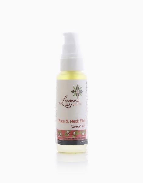 Face & Neck Elixir by Lunas Living Oils | Normal Skin