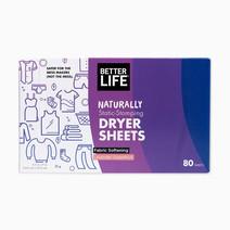 Betterlife dryer sheets fabric softening %2880 sheets%29 lavendergrapefruit