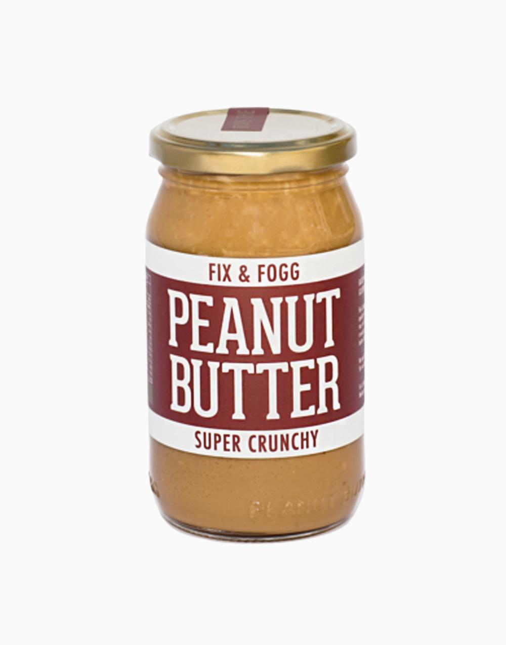 Crunchy Peanut Butter (375g) by Fix & Fogg