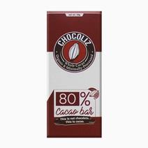 Chocoliz 80  cacao bar
