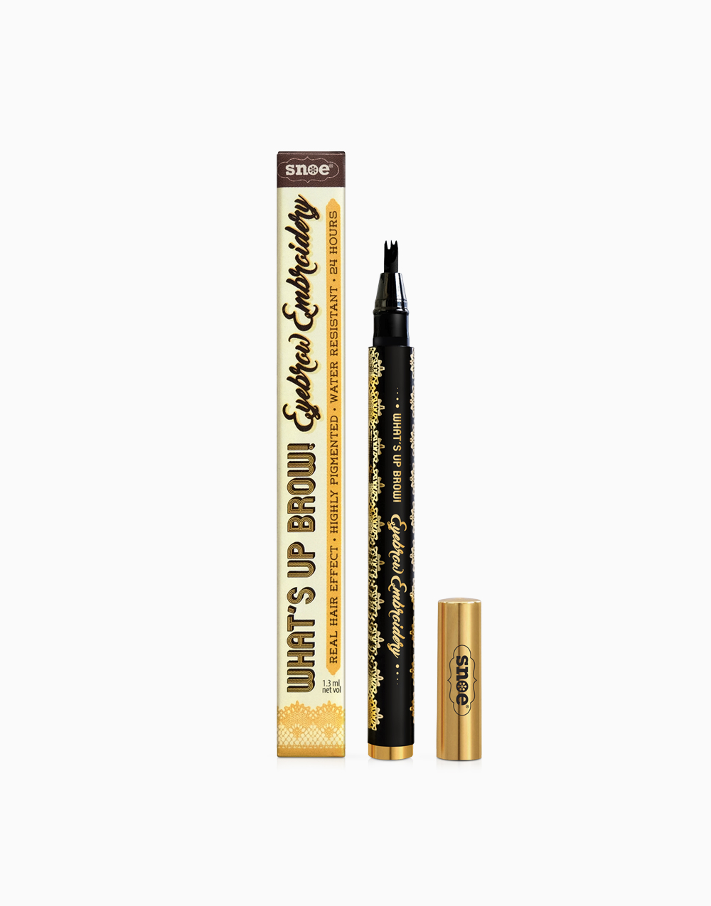 What's Up Brow! Eyebrow Embroidery by Snoe Beauty   Ochre