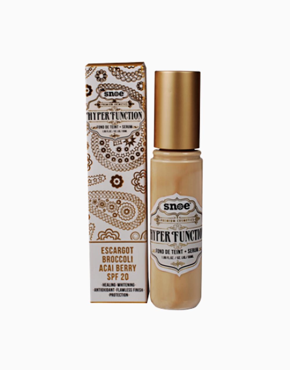 Hyperfunction Fond De Teint + Serum In X0 Vanilla Crème by Snoe Beauty