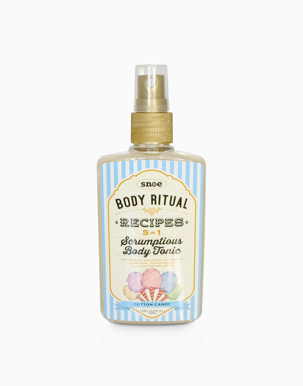 Body Ritual Recipes Scrumptious Body Tonic (Cotton Candy) by Snoe Beauty