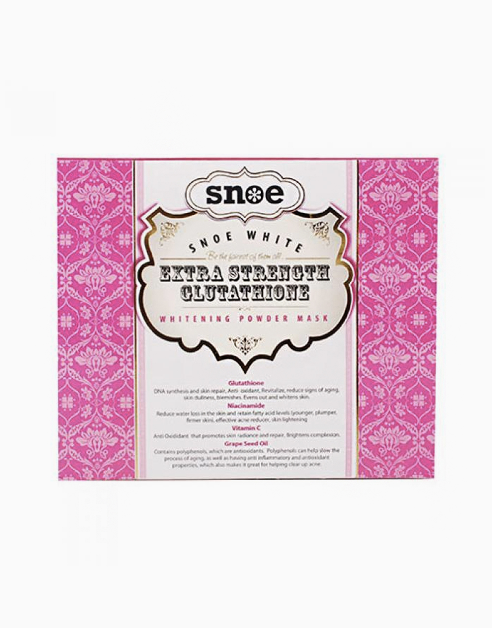 Extra Strength Glutathione Whitening Powder Mask by Snoe Beauty
