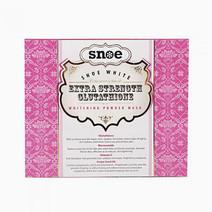 Snoebeauty snoe white extra strength glutathione whitening powder mask