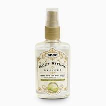 Snoebeauty body ritual recipes sweet hair   body glaze honey dew melon yogurt