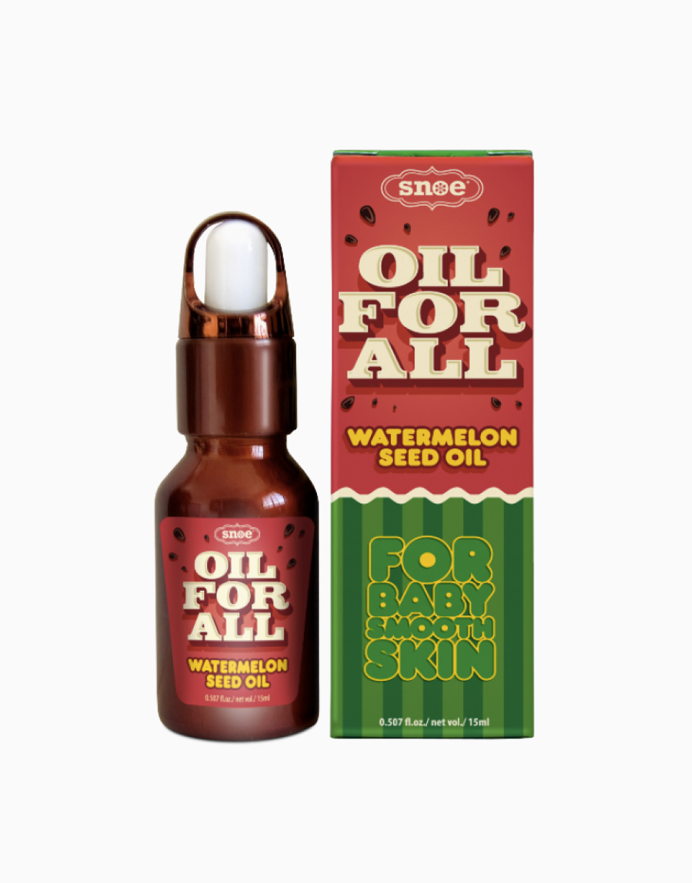 Oil For All Watermelon Seed Oil by Snoe Beauty