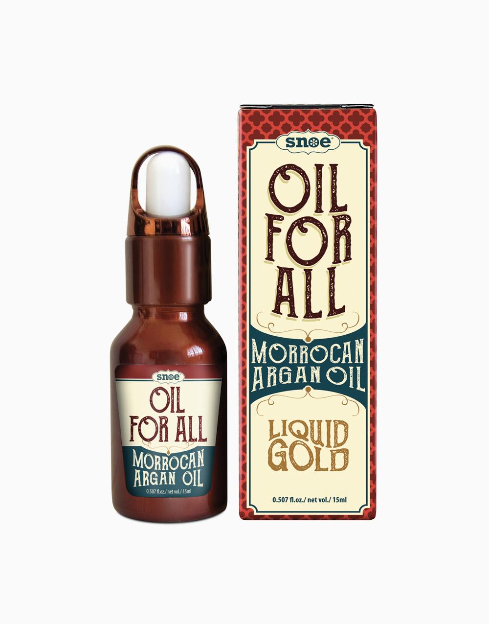 Oil For All Morrocan Argan Oil by Snoe Beauty