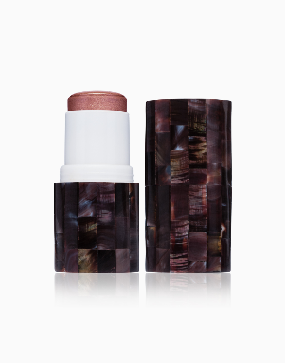 "Boldly ""Glow"" Coconut Oil Skin Bloom Blush Stick by VMV Hypoallergenics | Pant"
