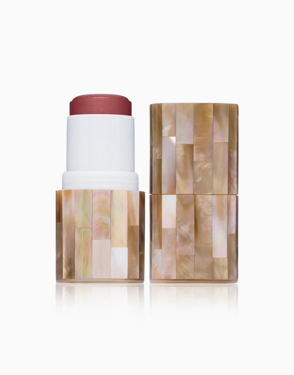 "Boldly ""Glow"" Coconut Oil Skin Bloom Blush Stick by VMV Hypoallergenics | Rosebud"