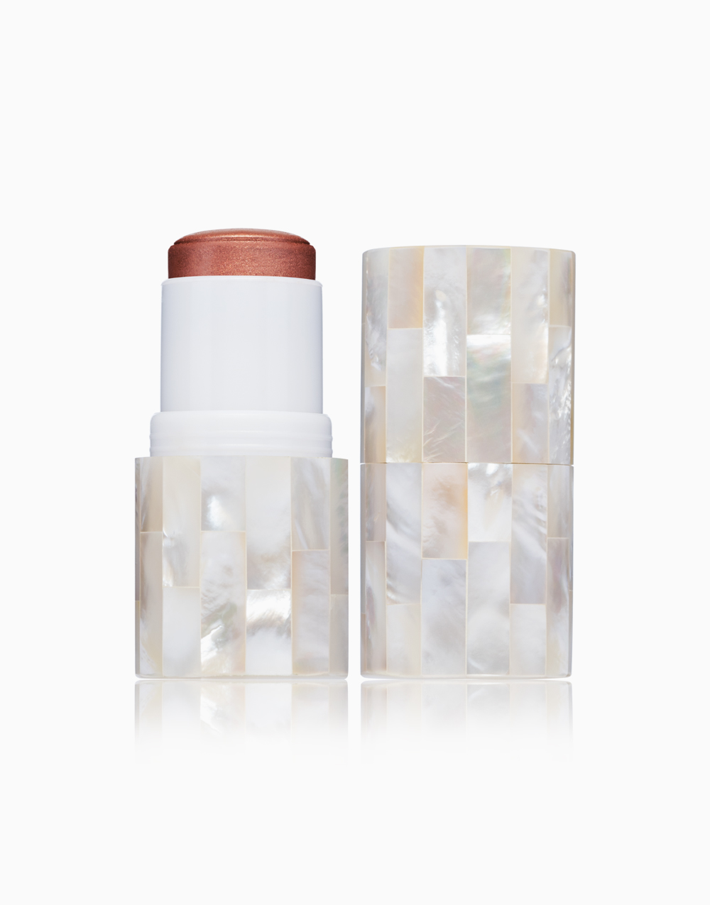 "Boldly ""Glow"" Coconut Oil Skin Bloom Blush Stick by VMV Hypoallergenics | Smauve"
