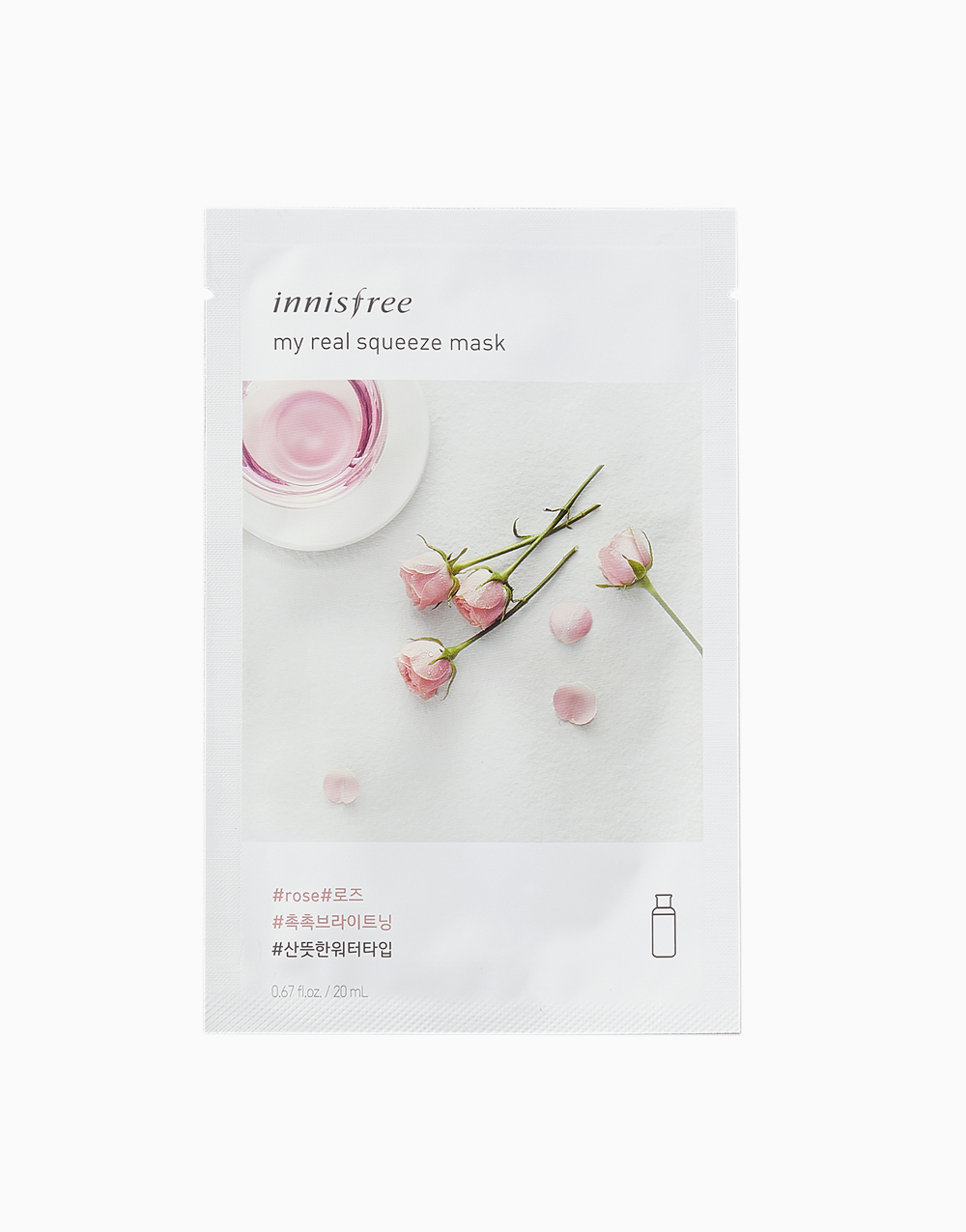 My Real Squeeze Rose Mask by Innisfree