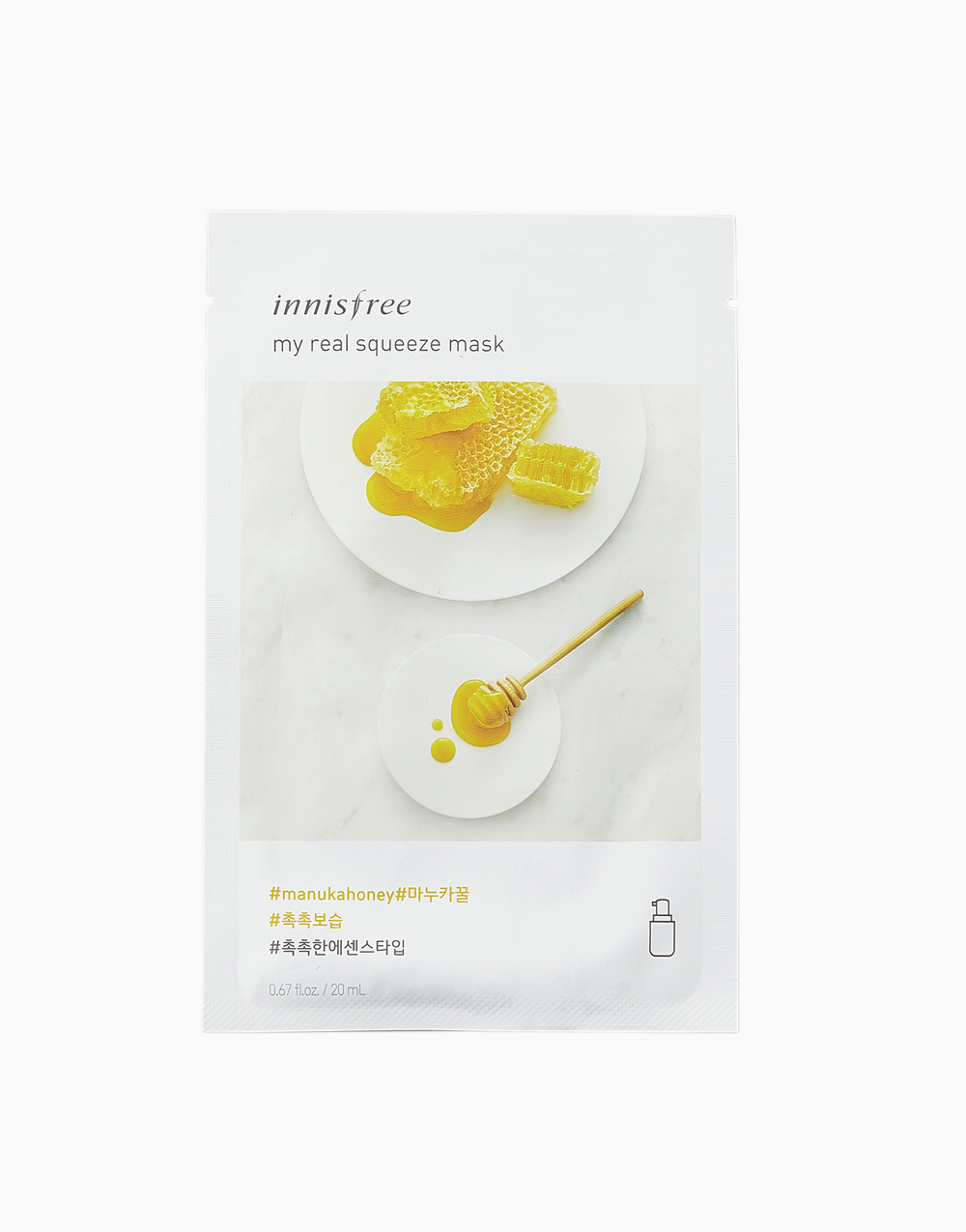 My Real Squeeze Manuka Honey Mask by Innisfree