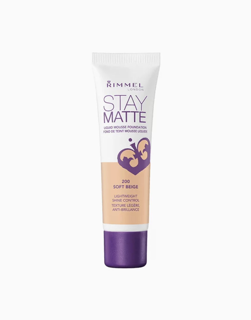 Stay Matte Mousse Foundation by Rimmel | Soft Beige