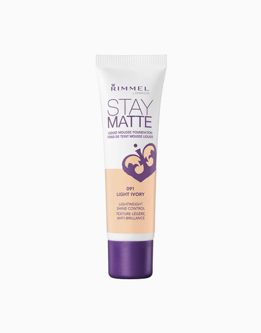 Stay Matte Mousse Foundation by Rimmel | Light Ivory