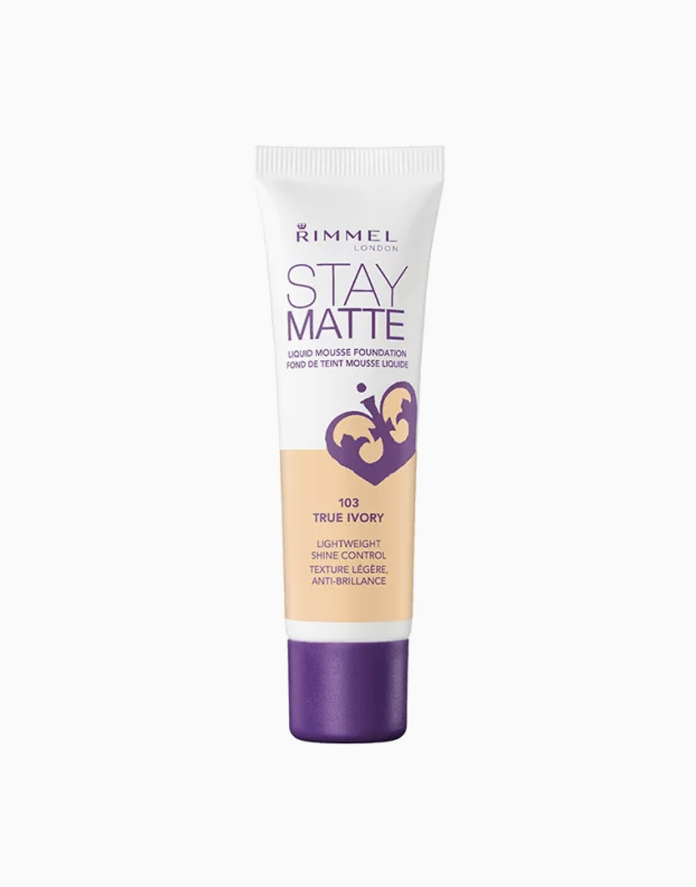 Stay Matte Mousse Foundation by Rimmel | True Ivory