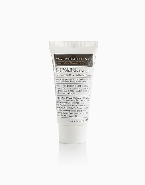 Re-Everything Face-Hand-Body Lotion Mini (30ml) by VMV Hypoallergenics