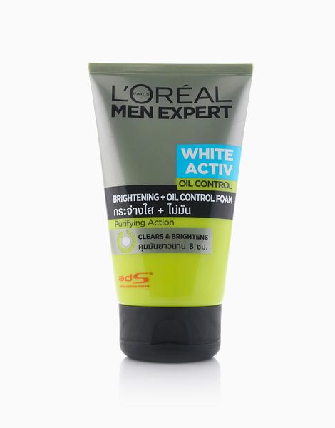 Men Expert White Active Oil Control Brightening + Oil Control Foam by L'Oréal Paris