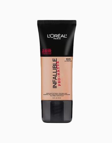 Infallible Pro-Matte Foundation by L'Oréal Paris | Natural Buff
