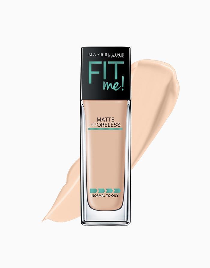 Fit Me Matte Poreless Liquid Foundation by Maybelline | 120 Classic Ivory