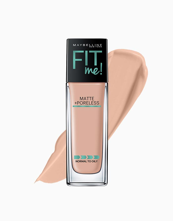 Fit Me Matte Poreless Liquid Foundation by Maybelline | 125 Nude Beige